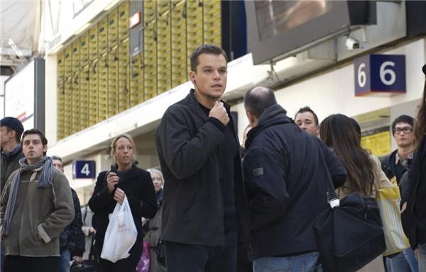 Matt Damon đã xuất sắc hóa thân thànhđiệp viên Jason Bourne.