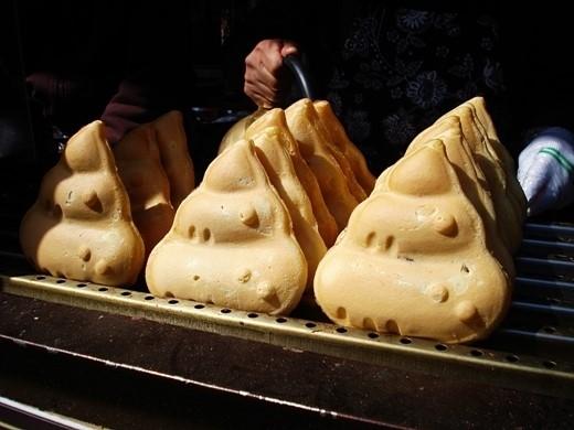 Hình dạng của bánh nàykhiến người ta không dám ăn thử.