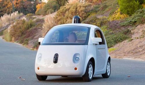 Mẫu xe tự lái khá dễ thương của Google.