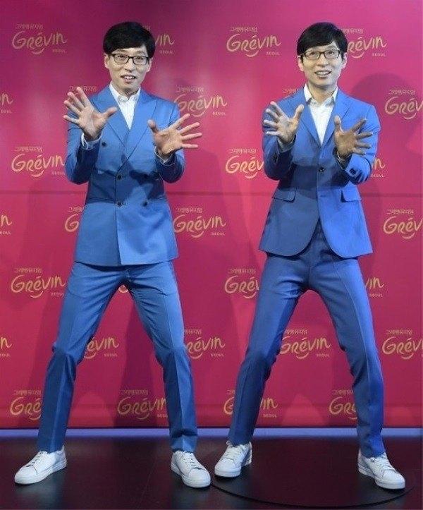 Các nghệ nhân phải mất hơn 6 tháng để hoàn thành tượng sáp của Yoo Jae Suk.