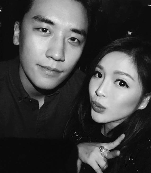 Nhiều người đẹp may mắn được chụp ảnh cùng Seungri
