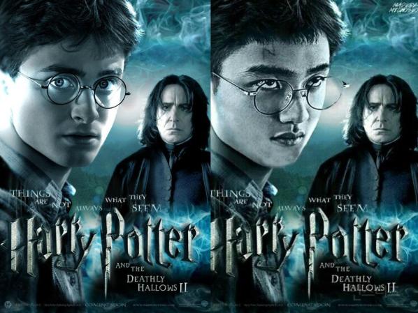"""D.Ođi đóng Harry Potter, tại sao không? Gương mặt đầy biểu cảm của thành viên nhóm nhạc EXO trông cũng khá hợp trong chiếc kính gọng tròn """"huyền thoại"""" đấy chứ?"""