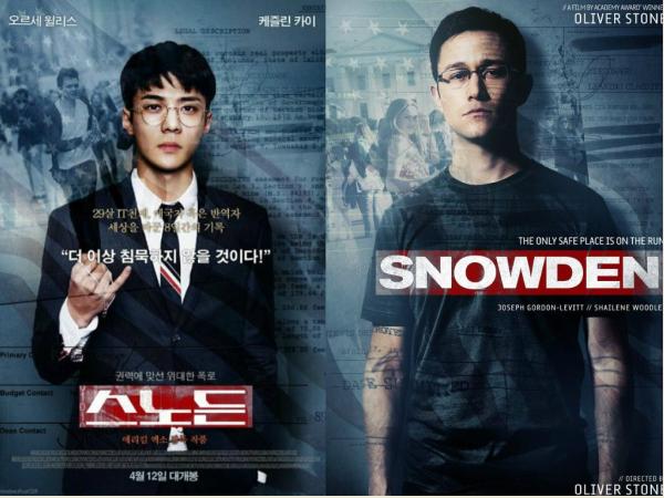 Nếu đi đóng phim Snowden (Mật vụ Snowden), tạo hình của Sehun (EXO) khi hóa thân thành mật vụEdward Snowden - cựu nhân viên phân tích của Cơ quan An ninh Quốc gia Mỹ có đủ để thuyết phục fan?