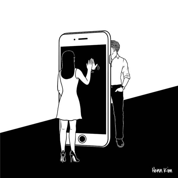 Mối quan hệ qua thế giới ảo chứa đựng những nguy cơ mà ta không thể lường trước được. Vì ta không thể biết người phía bên kia chiếc điện thoại là ai?