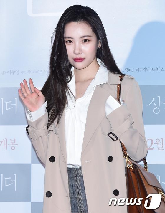 Cựu thành viên Wonder Girls đến ủng hộ cô em út Sohee