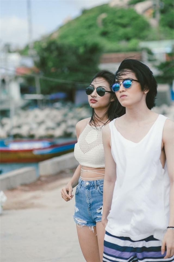 Gu thời trang cực hút của hot girl Việt khi sánh đôi bạn trai