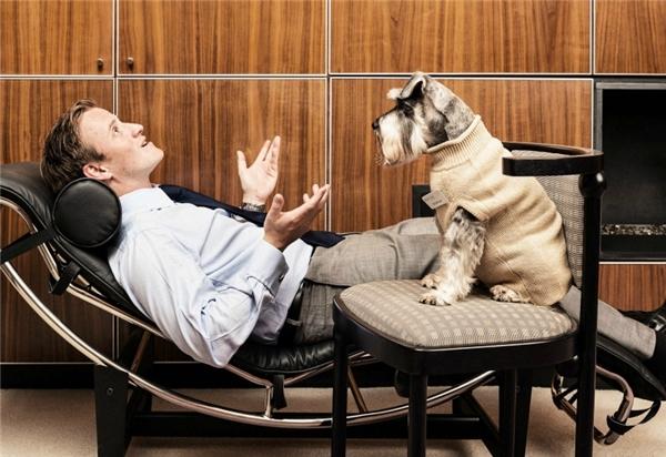 Các bệnh nhân tâm lí sẽ được trò chuyện cùng những chú chó, thay vì con người.