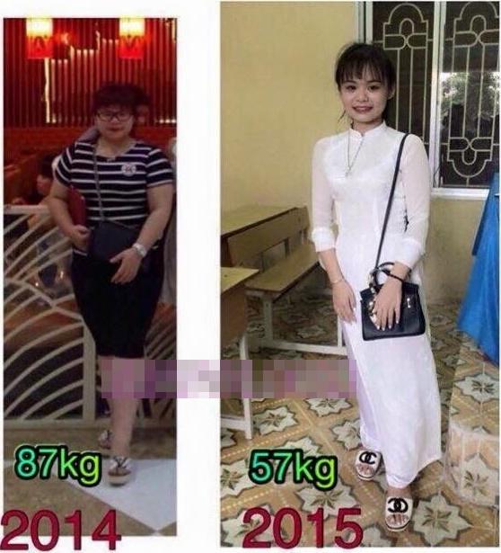 Dù béo cũng có thể thành gầy, chỉ là sự nỗ lực của bản thân mà thôi.