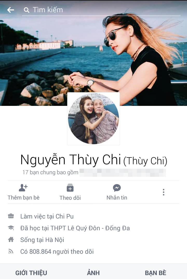 Chi Pu kém Quỳnh Anh Shyn khoảng 100.000 người theo dõi với con số cụ thể là 808. 864. - Tin sao Viet - Tin tuc sao Viet - Scandal sao Viet - Tin tuc cua Sao - Tin cua Sao