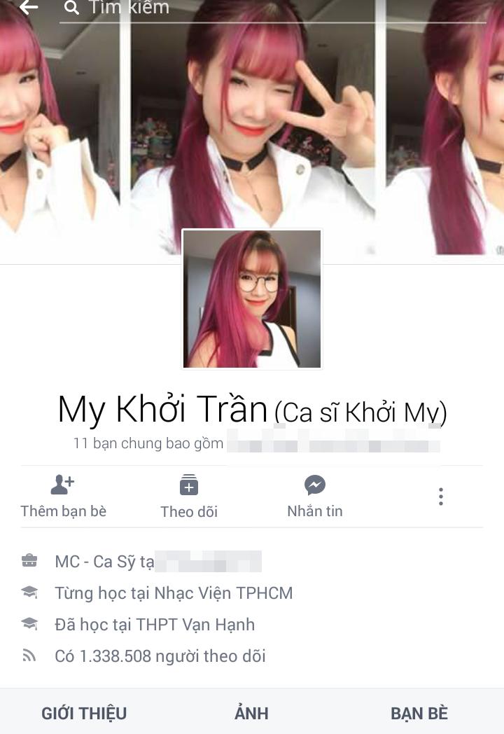 Đứng đầu danh sách là ca sĩ Khởi My với 1.338.508 người theo dõi. - Tin sao Viet - Tin tuc sao Viet - Scandal sao Viet - Tin tuc cua Sao - Tin cua Sao