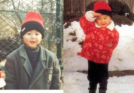 Junsu có nụ cười đặc trưng vừa nhìn là nhận ra ngay. Nhìn cậu bé tròn tròn chỉ muốn ôm vào lòng.