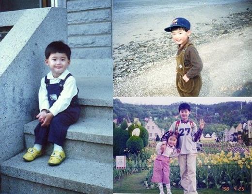 """Cậu nhóc Lee Jong Suk trông """"bẽn lẽn"""" chưa kìa. Nhìn chẳng khác với bây giờ là mấy nhỉ."""