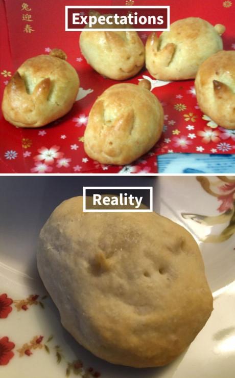 À, mình nặn ra củ khoai tây chứ đâu có nặn hình thú đâu.