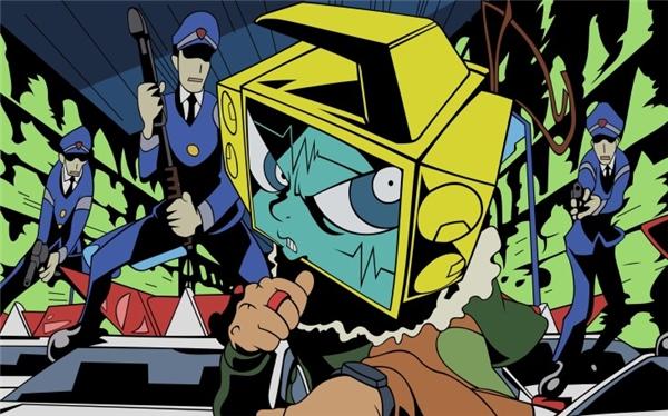 Dead Leaves được xem là anime kỳ quặc nhất, lập dị nhất.