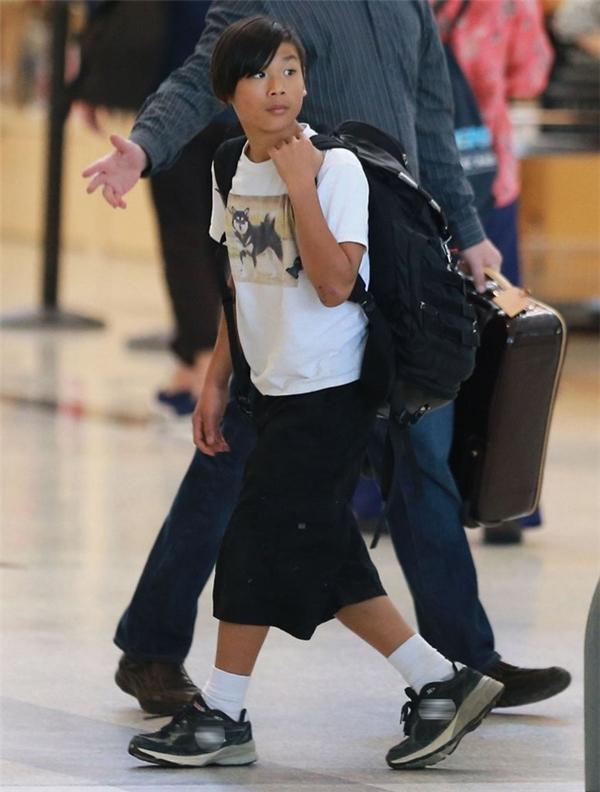 Pax trong một lần ra sân bay cùng gia đình vào tháng 6/2015.