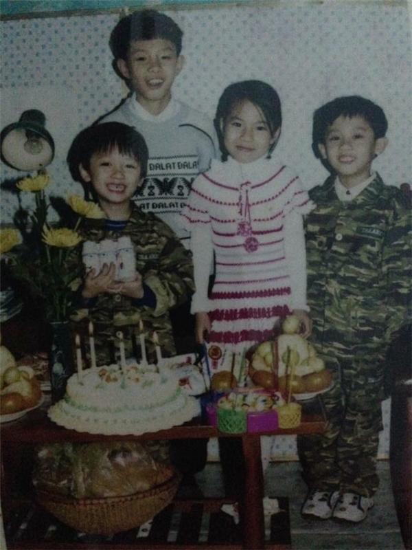 """Vài bịch sữa nhỏ trong lễ sinh nhật khi ấy cũng là cả một """"kho báu"""" rồi. (Ảnh:@Tainguyen)."""